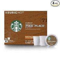 Pike Place 中度烘焙 K-Cup 咖啡胶囊 96粒
