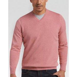 9fdf9e960 Joseph Abboud Cherry V-Neck Sweater - Men's Sweaters   Men's Wearhouse