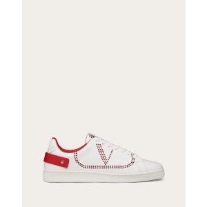 Valentino Garavani BACKNET Calfskin Sneaker for Man | Valentino Online Boutique
