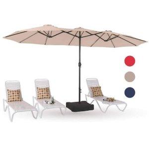 $115.99Walmart MF Studio 15ft Large Patio Umbrella