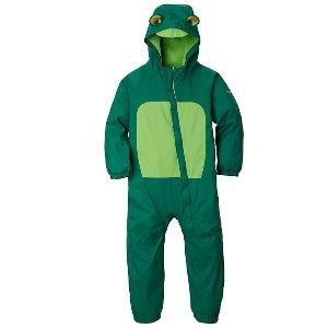 低至3折 + 会员包邮Columbia 官网儿童户外服饰精选促销 封面小青蛙保暖雨衣$26