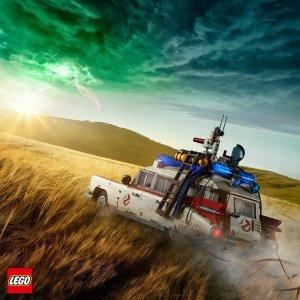 £179.99+限时赠礼冬日冰场补货:LEGO官网 捉鬼敢死队 ECTO-1 车 10274