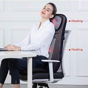 $118.99(原价$229.99)Snailax 指压加热按摩椅垫