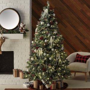 Belham Living7.5 ft. Glittering Frost Tree