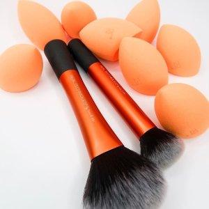 额外9.5折 收奇迹海绵美妆蛋Real Techniques 化妆工具等热卖