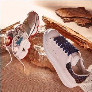 低至2折 收麦昆经典小白鞋Rue La La 麦昆、Fendi 等大牌老爹鞋热卖