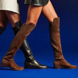 每满$200立减$100NM Last Call 精选 Stuart Weitzman 美靴上新热卖 为秋冬囤过膝靴