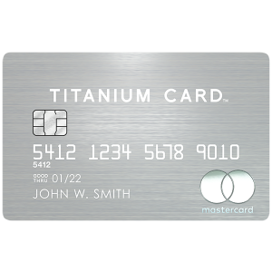 2% value for airfare redemptionsMastercard® Titanium Card