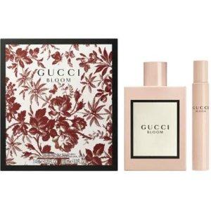 限时好价¥670 + 免邮中国GUCCI Bloom花悦绽放女士浓香水套装(香水100ml+滚珠7.4ml)