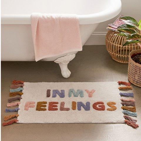 低至2.5折 £20收封面浴室地毯Urban Outfitters 家居大促 欧阳娜娜同款唱片机、床品、拍立得都有