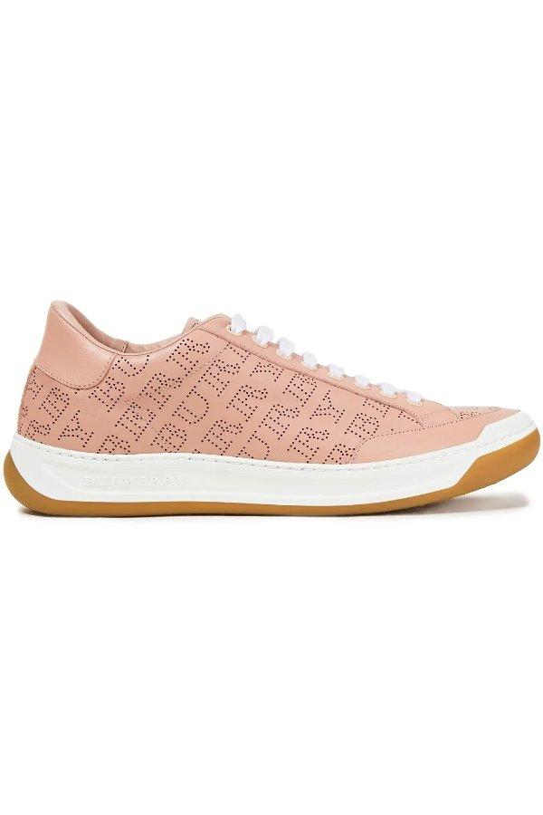 Perforated 平底鞋