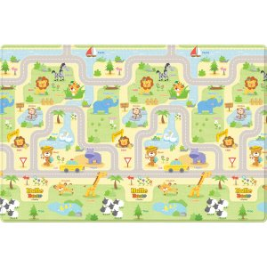ParklonBaby Soft Large Size Play Mat - Hello Bear Smiletown