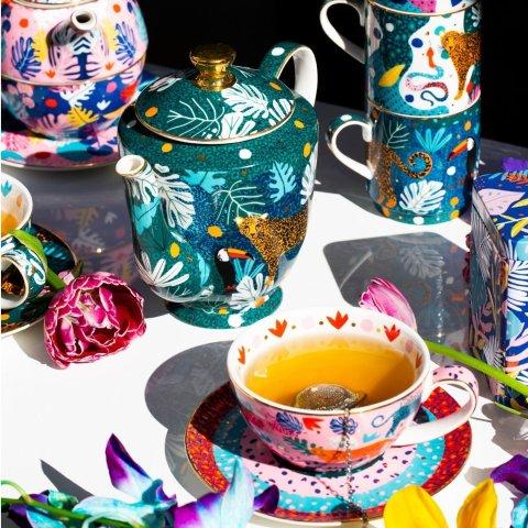 买1送1 热门款飞速断货T2 精美茶具 罕见变相5折 茶杯套装低至$15