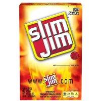 Slim Jim 烟熏肉棒原味 120条装