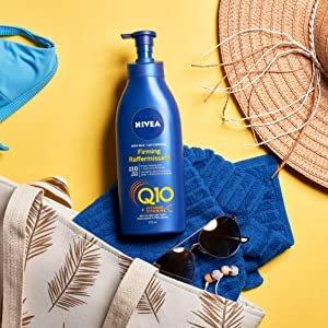 $6.29(原价$7.77)NIVEA Q10 VC紧致美白身体乳 473ml 专为干皮设计 滋养保湿