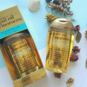 $6.97(原价$8.47)Organix Argan 摩洛哥坚果油护发油  减少分叉、抚平毛躁