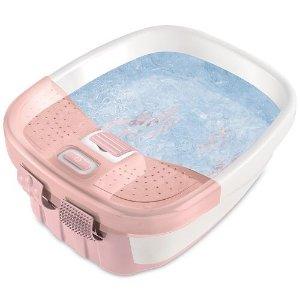 再降 $16.99限今天:Homedics FB-50 豪华按摩足浴盆 2色可选