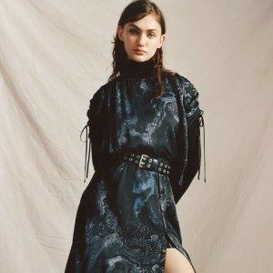 一律8.5折+免邮 短袖£49上新:AllSaints 日式印花图腾新装上线 优雅又复古 低调又迷人