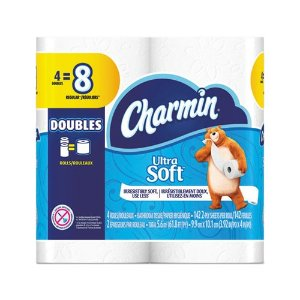 CharminProcter & Gamble Professional Ultra Soft Bathroom Tissue, Septic Safe, 2-Ply, White, 4 x 3.92, 142 Sheets/Roll, 4 Rolls/Pack, 12 Packs/Carton