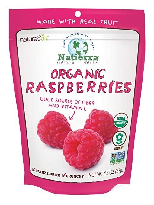 Nature's 天然有机冻干蔓越莓 1.3 oz.