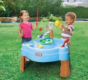$36.98(原价$54.99)Little Tikes 儿童小鱼池塘玩水桌