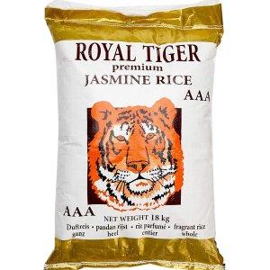 18公斤装 现价€36.12Royal Tiger 茉莉香米 补货 如此大包装囤货不用自己去超市搬