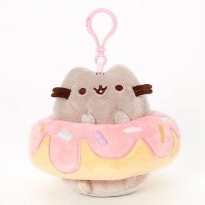 Pusheen® 甜甜圈钥匙圈