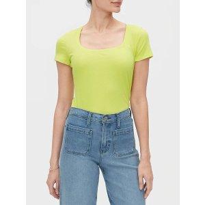 Banana RepublicTimeless Square-Neck T-Shirt