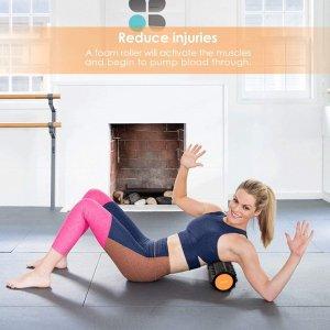 折后€16.14 内层可单独使用INTEY 健身泡沫轴狼牙棒热卖 告别肌肉酸痛