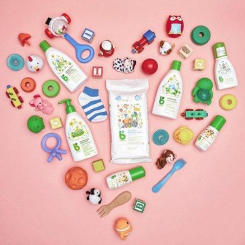 低至4.2折 湿巾仅$5 大瓶洗衣液$9Babyganics 纯天然婴幼儿产品特卖 囤货好时机