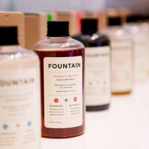 满$100减$20,变相8折!Fountain 美容营养保健品限时特惠 收美白保湿口服液