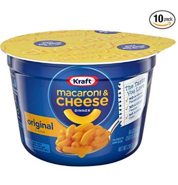 Kraft 卡夫 原味奶酪通心粉杯 10杯装