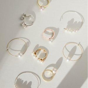 2件7.5折+下单就赠珍珠耳钉即将截止:Olivia & Pearl 绝美珍珠首饰冬日热促 不撞款小众牌