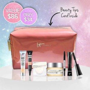 IT Cosmetics Canada4.6 折!价值$86 不参加额外折扣明星 7 件套