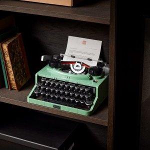£179.99 VIP 6.16开抢新品预告:LEGO ideas系列 打字机官宣 三角钢琴同门