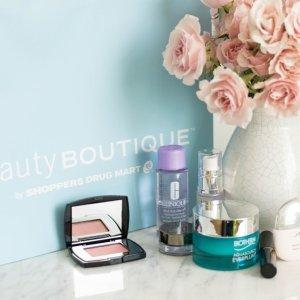 最高送4万5千积分(价值$45)BeautyBoutique 全场美妆护肤香水特惠