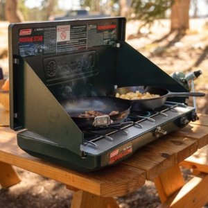 ColemanPortable Propane Gas Classic Stove with 2 Burners