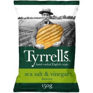 TYRRELLS海盐果醋味 12包 x 150G