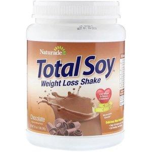 Naturade大豆减肥奶昔,巧克力味,1.2 lbs (540 g)