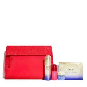 Shiseido价值$172悦薇精华套装