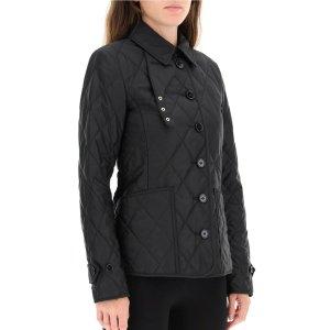 $495(原价$660)Burberry 绗缝菱格夹克上新 两色可选
