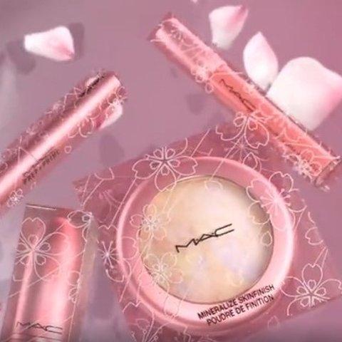 当樱花撞上玫瑰金预告:MAC 2020樱花限量樱雾粉金甜蜜来袭