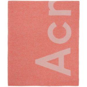 Acne Studios爆款大羊毛字母围巾
