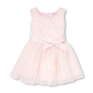 婴儿礼服裙