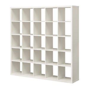 (5) IKEA 16宮格展示櫃:KALLAX Shelf unit - birch effect  - IKEA