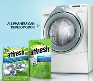 热销商品!$7.97(原价$11.99)Whirlpool Affresh 洗衣机清洗剂 -3片装