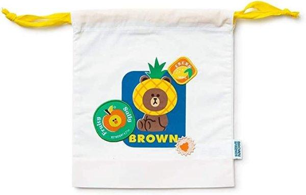 布朗熊 莎莉鸡 夏日系列收纳小袋