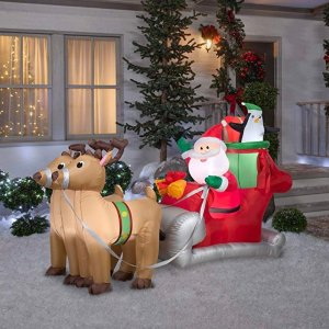 Save up to 30%Today Only: Amazon Holiday Inflatables from Gemmy