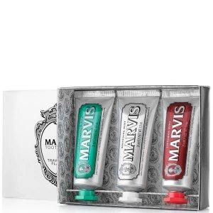 Marvis明星牙刷套装3 x 25ml