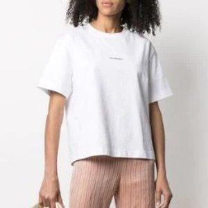 Acne Studios剩xs/s码印花棉质T恤